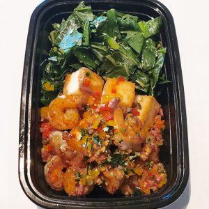 Karen Bevels Catering Meal Prep Shrimp and Grit Cakes